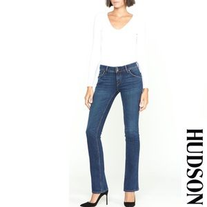 Hudson Jeans Beth Baby Bootcut Med Rinse Jeans 28